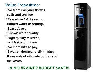Bottleless Value Proposition: a no-brainer budget saver!